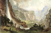 Albert Bierstadt The Domes of the Yosemites oil
